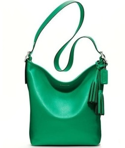Emerald crossbody
