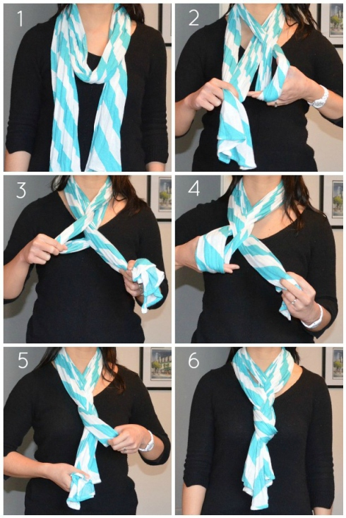 4 ways to wear a scarf style all
