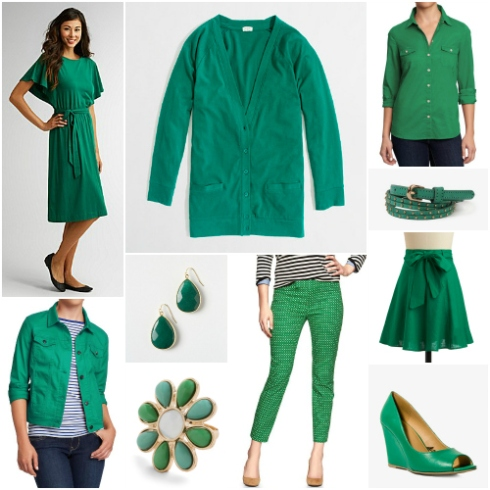 Emerald Collage