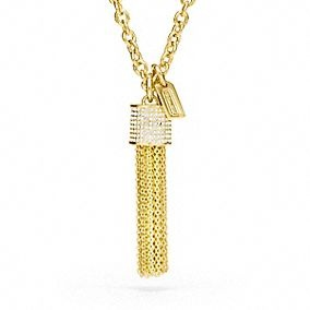 Tassel Necklace - Coach